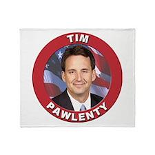 Tim Pawlenty Throw Blanket
