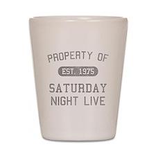 Property of SNL Shot Glass