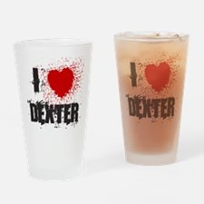 I Splatter Dexter Pint Glass