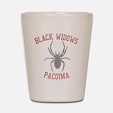 Black Widows Pacoima Shot Glass