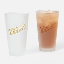 I Speak Jive Pint Glass