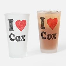 I Love Cox Pint Glass