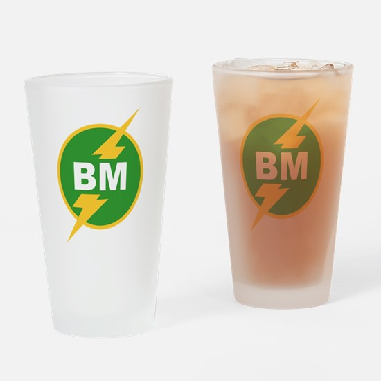 BM Best Man Pint Glass