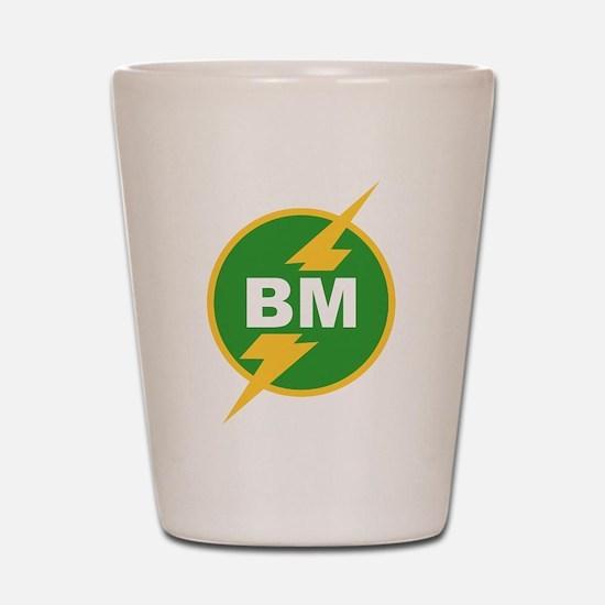 BM Best Man Shot Glass