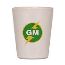 GM Groomsman Shot Glass