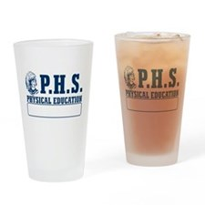 P.H.S Physical Education Pint Glass