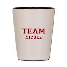 Team Nicole Shot Glass