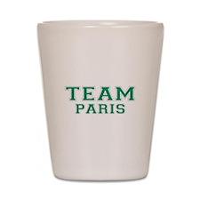 Team Paris Shot Glass