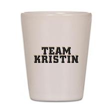 Team Kristin Shot Glass