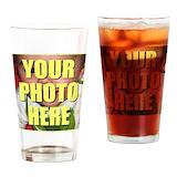 Custom photo Pint Glasses