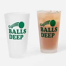 Go Balls Deep Pint Glass