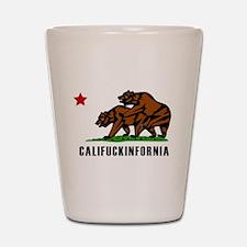 Califuckinfornia Shot Glass