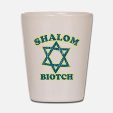 Shalom Biotch Shot Glass