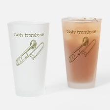Rusty Trombone Pint Glass