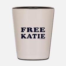 FREE KATIE Shot Glass