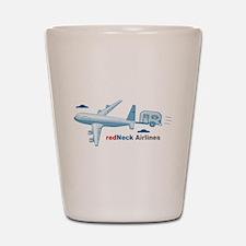 redNeck Airlines Shot Glass