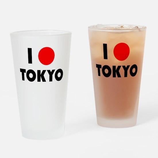 I Heart [Love] Tokyo Pint Glass