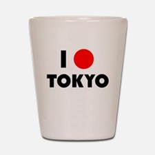 I Heart [Love] Tokyo Shot Glass