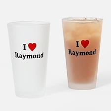 I Love [Heart] Raymond Pint Glass