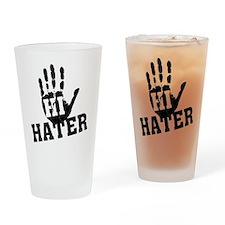 Hi Hater Pint Glass