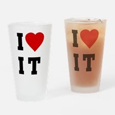 I Love [Heart] It (I Luv It) Pint Glass