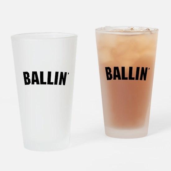 Ballin' Pint Glass