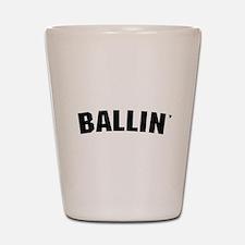Ballin' Shot Glass