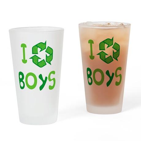 I Recycle Boys Pint Glass