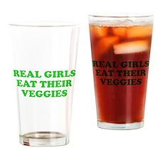 Real Girls Eat Their Veggies Pint Glass