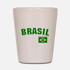 Brazil (Brasil) Shot Glass