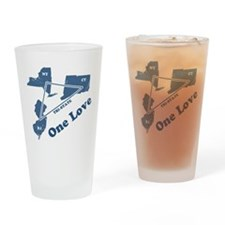 NY, NJ & CT - One Love Pint Glass