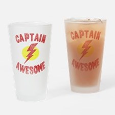 Captain Awesome Pint Glass