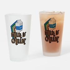 Milk is Chillin' Pint Glass