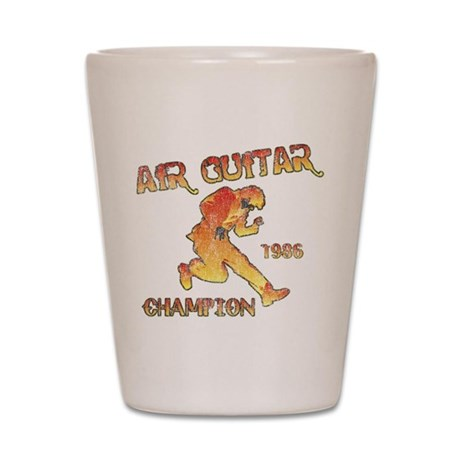 Air Guitar Champion (vintage) Shot Glass