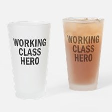 Working Class Hero Pint Glass