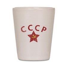 CCCP - Soviet Police v.2 Shot Glass