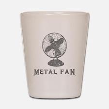 Metal Fan Shot Glass