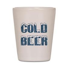 Cold Beer Shot Glass