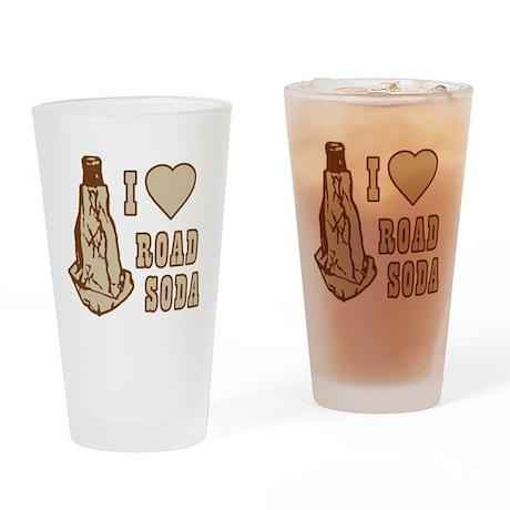 I Love Road Soda Pint Glass