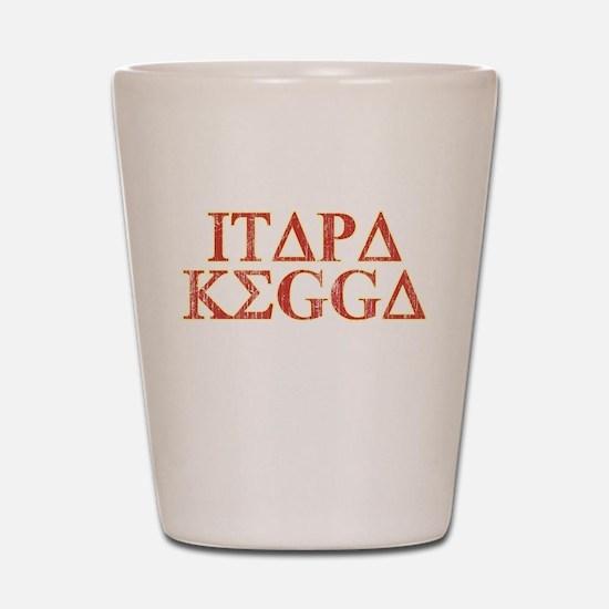 ITAPA KEGGA (Greek) Shot Glass