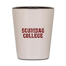 Scumbag College Shot Glass