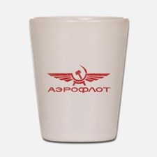 Vintage Aeroflot Shot Glass