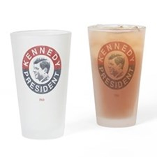 JFK for President Pint Glass