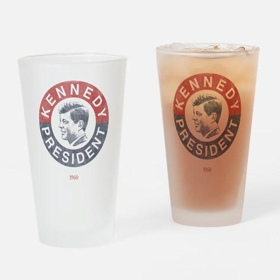 JFK for President Pint Glass