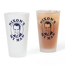 Nixon's My Man T-Shirt Pint Glass
