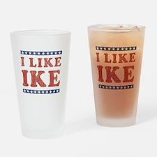 I Like Ike Pint Glass
