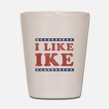 I Like Ike Shot Glass