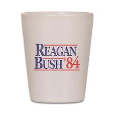 Reagan Bush '84 Shot Glass