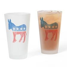 Democratic Donkey Pint Glass