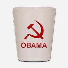 Socialist Obama Shot Glass